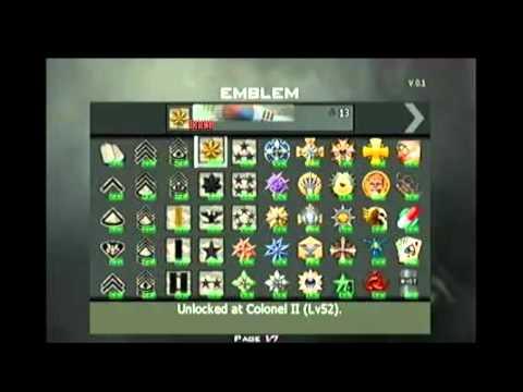 MW3 - TODOS los titulos, emblemas y galardones desbloqueados HD