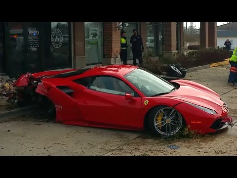 Ferrari Test Drive Goes Wrong   Too Much Horsepower