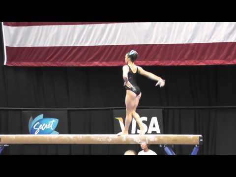 Lexie Priessman - Balance Beam - 2012 Visa Championships Podium Training