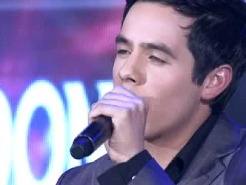 David Archuleta sings Nandito Ako at Talentadong Pinoy