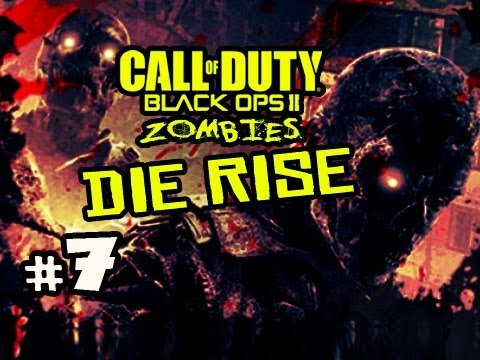 WINDOW SCREWJOB - Die Rise Zombies Black Ops 2 w/ Kootra Ep.7