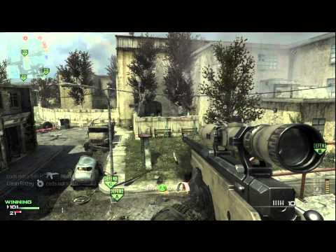 MW3: Barret 50 Cal 39-7-7 (Commentary)