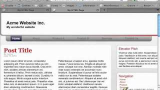 HTML5 & CSS3 - Comparing XHTML and HTML5 Part 1