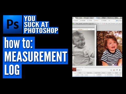 Measurement Log - You Suck at Photoshop