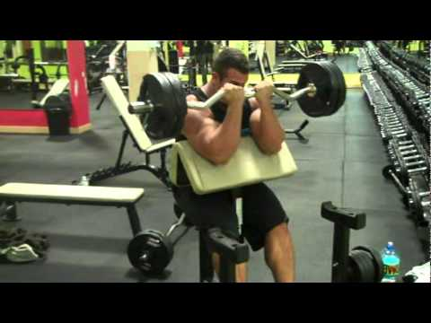 SEPT 2010 - ANTOINE VAILLANT - OFF SEASON HEAVY ARM TRAINING