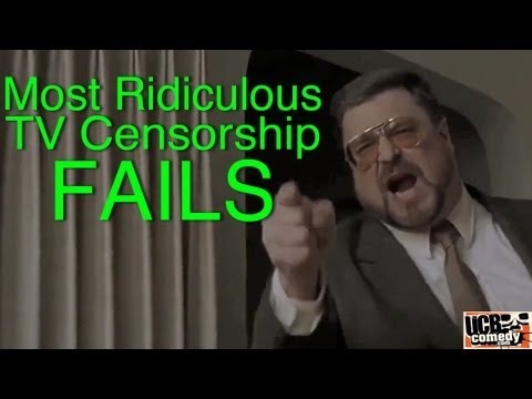 Most Ridiculous TV Censorship FAILS