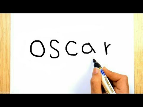 How to turn word Oscar into Rami Malek