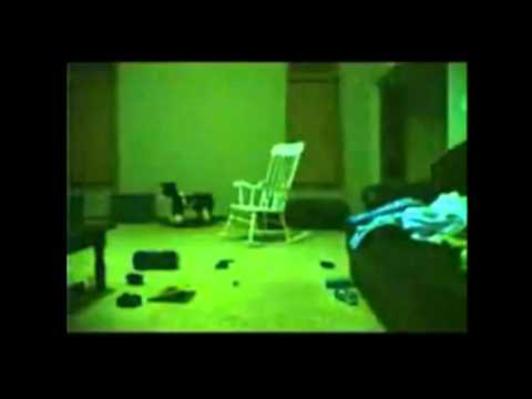 Ghostly rocking chair - paranormal activity