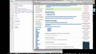 (4/36) Adding HTML5 Layout Tags (article, section, header, footer)