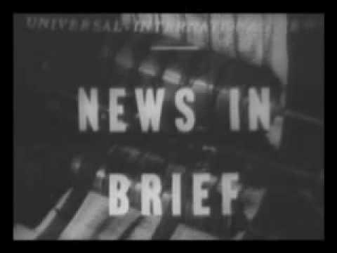 1948 Berlin Airlift Newsreel 1