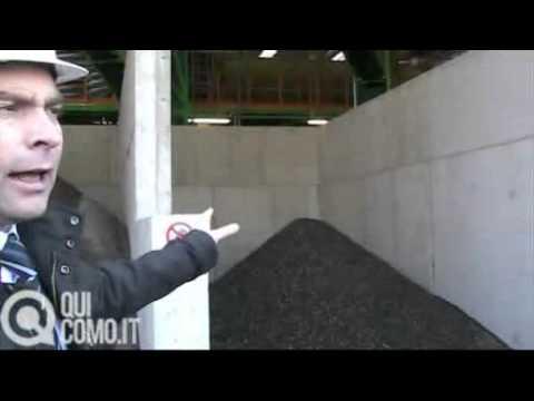 A Figino impianto di riciclaggio rifiuti in materiale edile