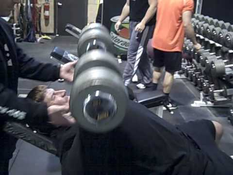 DeFrancosGym.com - Tony Fiammetta & Dave Diehl throw around the 140-s!