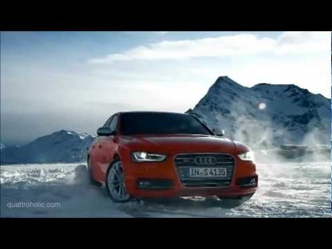 Video vom Audi S4 Facelift im Winter