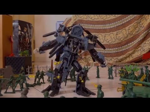 Episode 5 Blackout Attacks! | TRANSFORMERS STOP MOTION