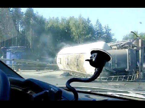 Аварии грузовиков Июнь2016