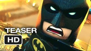 The Lego Movie Official Teaser Trailer (2013) - Will Ferrell Movie HD