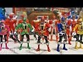 Power Rangers Super Megaforce 5 Inch Figure Review & Comparison!