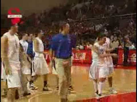 CBA China Vs Brazil brawl