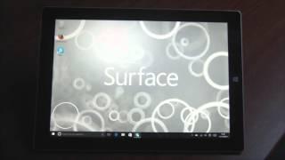 Vidéo : Multimédia Microsoft Surface 3