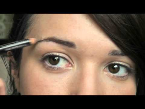 Make-up For Beginners - How to Shape/Fill The Brows Step 11