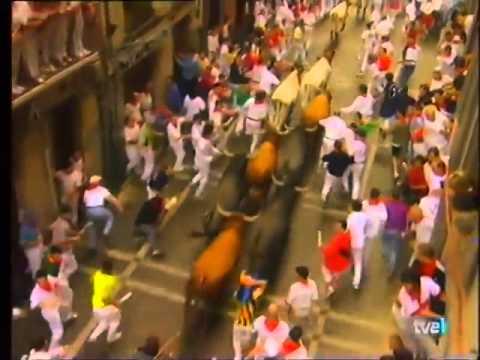 Encierro de San Fermín   11 de julio de 1999 480p