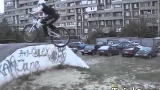 Велотриал в Новокосино 2007