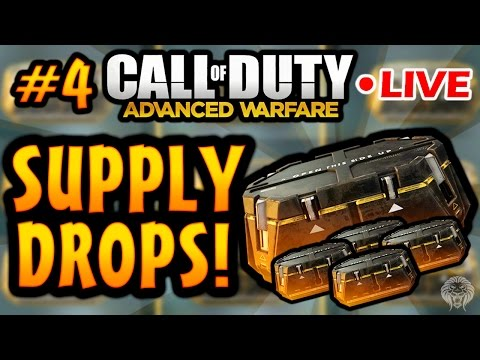 COD Advanced Warfare: SUPPLY DROP OPENING! Supply Drops Live w/ Unknown Player #4 (Call of Duty AW) - unknownplayer03