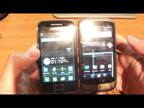 Revisión Samsung Galaxy Ace de Telcel Parte 1