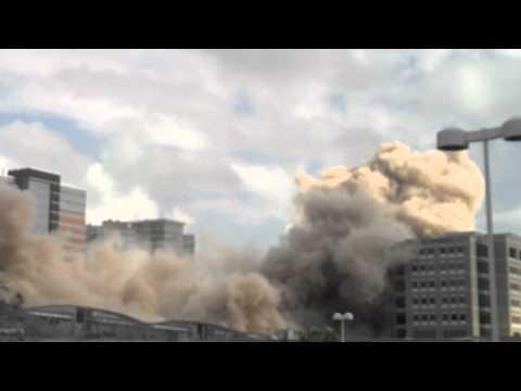 Rušenje zgrade eksplozivom – Jedinstven prizor