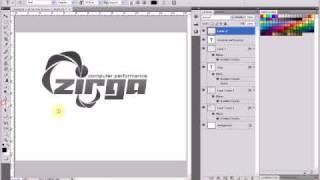 logo tutorial - zirga - computer related logo