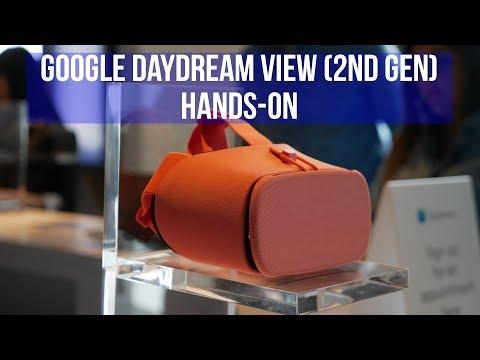 Google Daydream View (2nd gen) hands-on - UCwPRdjbrlqTjWOl7ig9JLHg