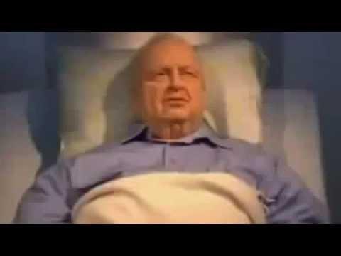 شاهد بالفيديو ماحدث لشارون قبل موته ب 6 ساعات - خطير جدا
