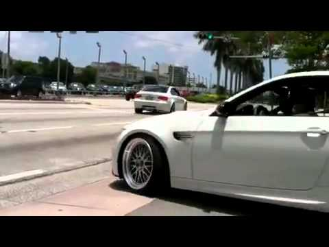 BMW M3 E92 stock - Burnout Acceleration Bechleunigung