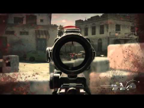 "Mw3 Campaign ""Return to sender"" Veteran Walkthrough Act 2 Mission 2"