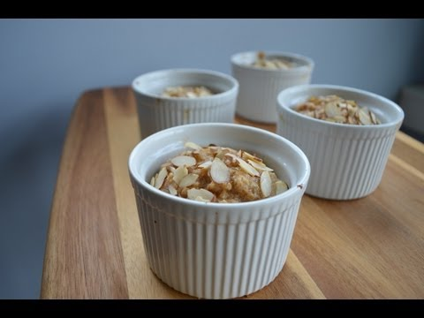 Baked Protein Oatmeal with Dymatize ISO 100 Whey (FitMenCook)