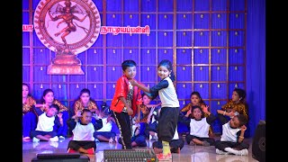 Dance school day final song by Anjugramam students