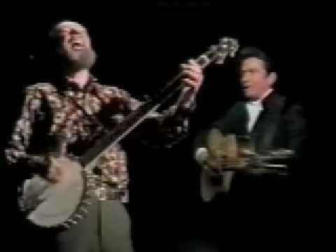 Pete Seeger on The Johnny Cash Show complete and uncut
