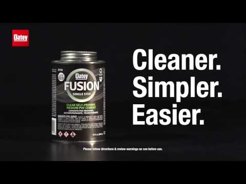 Oatey Fusion - One Step PVC Cement