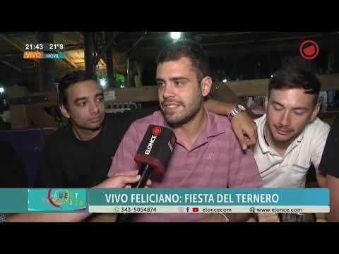 Fiesta Provincial del Ternero Entrerriano: Así vive el público la última noche