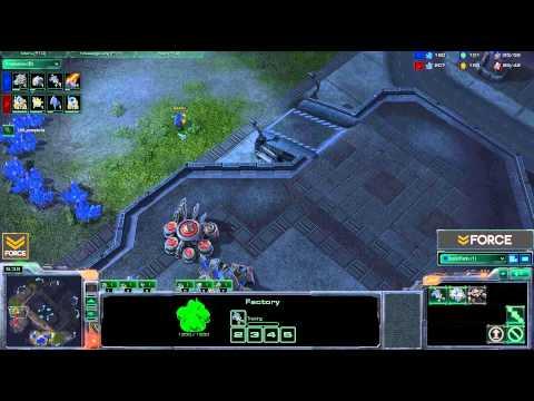 StarCraft 2 - [T] Blue Flame Hellion Drop TvP - Strategy