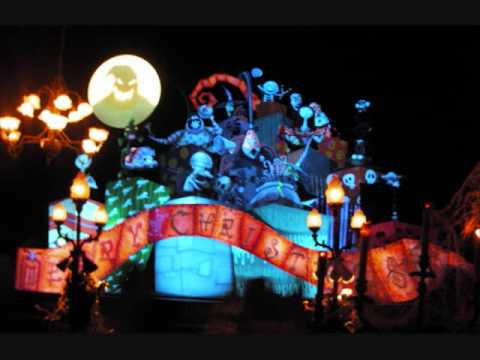 Haunted Mansion Holiday hallway (2001) music