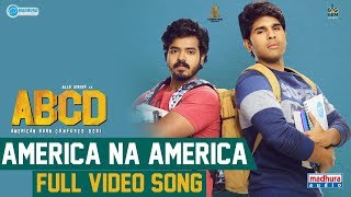 America Naa America Full Video Song | ABCD Movie