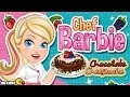 Barbie Game: Barbie Chocolate Cheesecake - Barbie Cooking