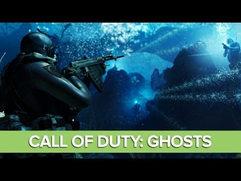 Call of Duty Ghosts Gameplay: Underwater Mission - Into The Deep
