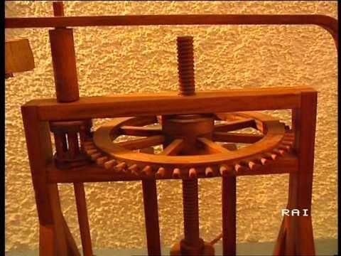La mostra delle Macchine di Leonardo da Vinci : servizio del TG3 Basilicata