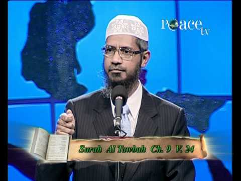 Dr Zakir Naik - Is Quran God's Word - Lecture - Part 1