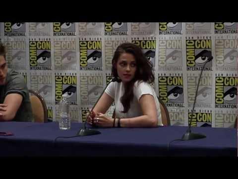 Breaking Dawn Part 2 Comic Con 2012 Panel #2 - Robert Pattinson, Kristen Stewart, Taylor Lautner