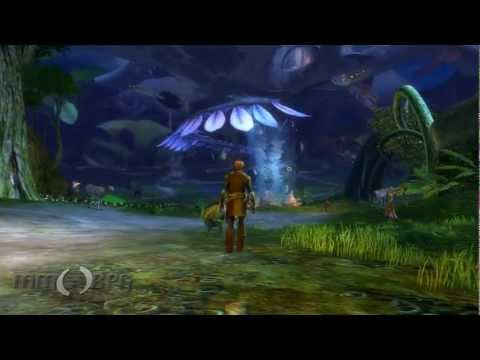 Guild Wars 2 - The Sylvari Home City of Grove Tour