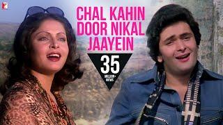 Chal Kahin Door Nikal Jaayein  Song HD  चल कहीं दूर निकल जाएँ  Doosara Aadmi  Kishore, Lata
