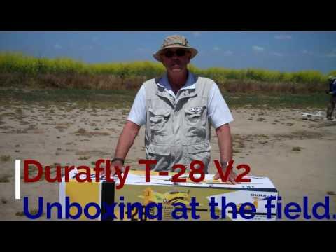 Rick's Unboxing Durafly T-28 V2 1100mm - default